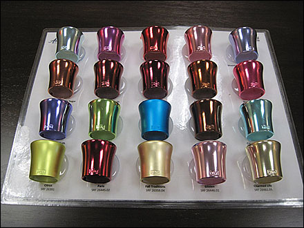 anodizing color choices