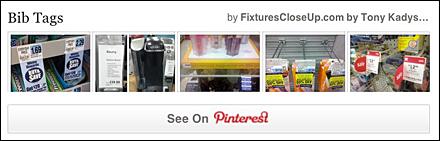 Bib Tags _ Promo Tags FixturesCloseUp Pinterest Board