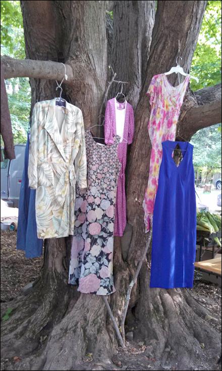 apparel display the woodstock way fixtures close up