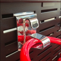 Coil Spring Display via Slot Hook 3