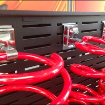 Coil Spring Display via Slot Hook Main