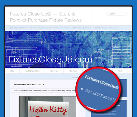 Fixtures Close Up Retail and P-O-P | Store and Point-of-Purchase
