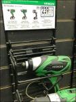 Hitachi Tool Wars Go Green