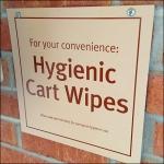 Hygienic Cart Wipes Closeup