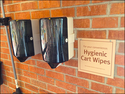 Hygienic Cart Wipes Main