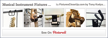 Musical Instrument Fixtures Pinterest Board on FixturesCloseUp