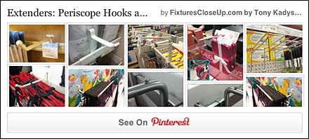 Periscope Hooks Pinterest Board on FixturesCloseUp