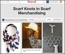 Scarf Knots in Scarf Merchandising