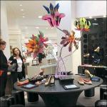 Shoes as Floral Arrangement Aux