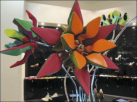 Shoes as Floral Arrangement Main
