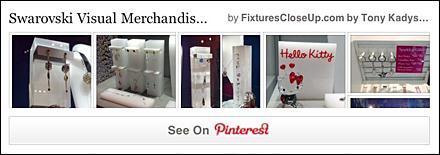 Swarovski Visual Merchandising Store Fixtures FixturesCloseUp Pinterest Board