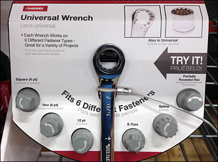 Univerals Wrench Try Me Main