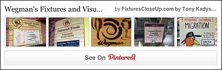 Wegmans Fixtures and Merchandising Pinterest Board FixturesCloseUp
