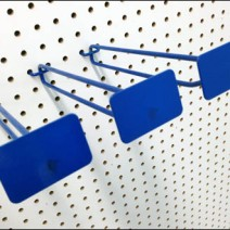 Blue All Wite Metal Plate Scan Hooks 2