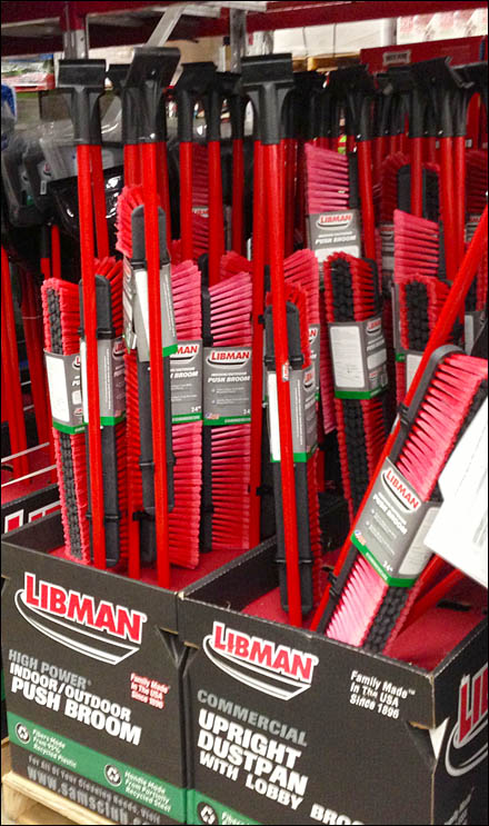 Color Matched Broom Display Main