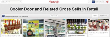 Cooler Door and Related Cross Sells in Retail