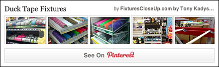 Duck Tape® Fixtures Pinterest Board for FixturesCloseUp