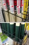 Extend-a-Pole Pegboard Rack CloseUp