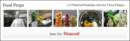 Food Props as Visual Merchandising Pinterest Board