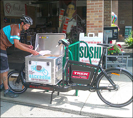 Fresh Coffee Delivered by Bicycle Main2