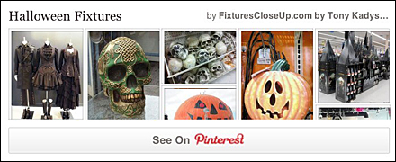 Halloween Fixtures Pinterest Board of FixturesCloseUp