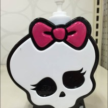 Halloween Goth Skull Soap Dispenser Main