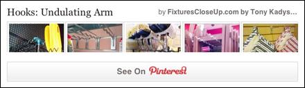 Hooks- Undulating Arm Pinterest Board For FixturesCloseUp