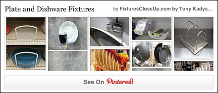 Plate and Dishware Fixtures Pinterest Board on FixturesCloseUp