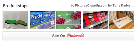 Productstops Pinterest Board on FixturesCloseUp