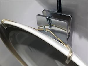 S-Hooked Plate Hanger
