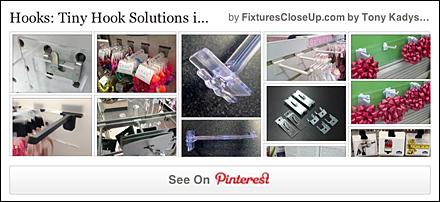 Tiny Hook Solutions FixturesCloseUp Pinterest Board