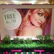 Topiary Signage Victoria's Secret 2a