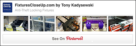 Anti-Theft Locking Fixtures Pinterest Board