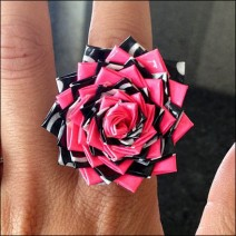 Duck Tape Ring CloseUp