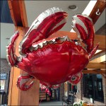 Flying Crab Inflatable Overall Aux