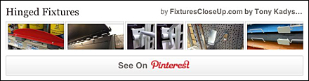 Hinged Fixtures FixturesCloseUp Pinterest Board