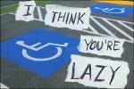 Lazy Parking Closeup