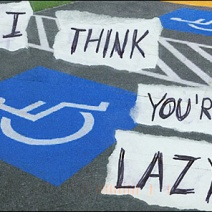 Lazy Parking Closeup