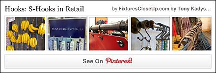 S-Hooks in Retail FixturesCloseUp Pinterest Board