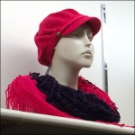 Winter Cap and Scarf Color Array Aux