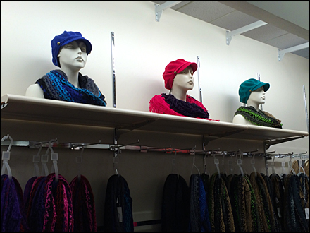 Winter Cap and Scarf Color Array Main