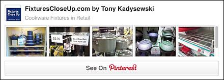 Cookware Retail Fixtures Pinterest Board