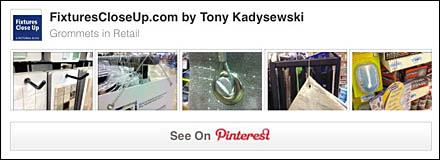 Grommets in Retail Pinterest Board