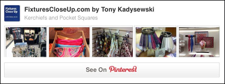 Kerchiefs and Pocket Squares Pinterest Board