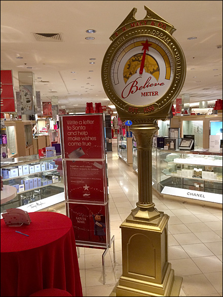 Macy's Believe Christmas Meter Main
