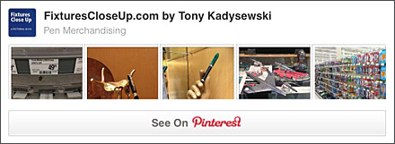 Pen Merchandising FixturesCloseUp Pinterest Board
