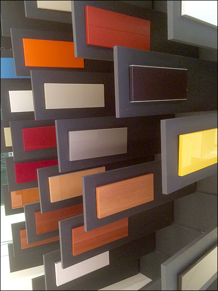 Kohler 174 Porcelain Color Samples Fixtures Close Up