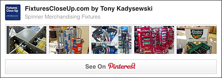 Spinner Merchandising Fixtures Pinterest Board