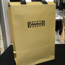 Wolford Gift Bag of Gold Detail