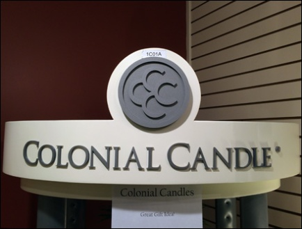 Colonial Candle Display 0